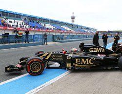 El E23 de Lotus por fin debuta en Jerez