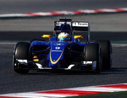 Marcus Ericsson supera las 100 vueltas con el C34