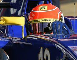 Felipe Nasr al frente de la segunda mañana de test de la segunda ronda en Barcelona