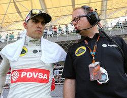 """Pastor Maldonado: """"He tenido problemas en la primera vuelta y han comprometido la carrera"""""""