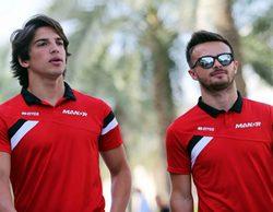 Will Stevens se burla de Roberto Merhi tras los resultados logrados en el GP de Baréin 2015