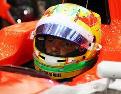 Merhi comienza su temporada en la Fórmula Renault 3.5 y afirma que su futuro en la F1 es incierto