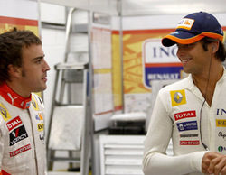 """Nelsinho Piquet habla sobre Alonso: """"Está en el lugar equivocado en el momento equivocado"""""""