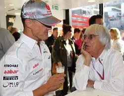 Bernie Ecclestone habla sobre los motivos por los que no visita a Michael Schumacher