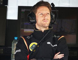 """Romain Grosjean, sobre el toque con Stevens: """"Ha sido error mío y pido perdón por ello"""""""