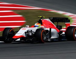 """Merhi se muestra confiado: """"En el equipo están contentos con los tiempos y con la constancia"""""""