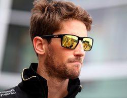 """Romain Grosjean cree que """"es injusto"""" ceder siempre su coche en los Libres 1"""