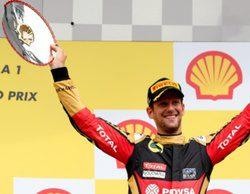 """Romain Grosjean: """"He pilotado con el corazón y he empujado al 100%"""""""