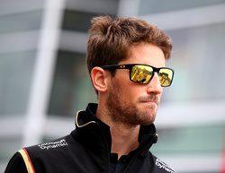 """Grosjean: """"Esperamos luchar con los Force India, Williams y Ferrari en clasificación"""""""