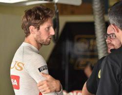 "Romain Grosjean: ""No me esperaba llegar a la Q3"""