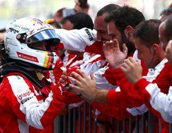"""Sebastian Vettel: """"Tenemos que aceptar que los Mercedes fueron más rápidos"""""""