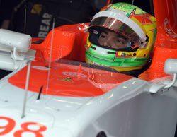 """Roberto Merhi: """"Es bueno estar de vuelta en el coche"""""""