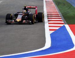 Un fuerte accidente de Carlos Sainz pone fin a los Libres 3 del GP de Rusia