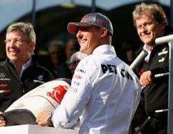 """Ross Brawn sobre la recuperación de Schumacher: """"Seguimos rezando cada día"""""""