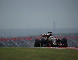 """Romain Grosjean: """"Todo es más grande en Texas, especialmente la lluvia"""""""