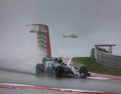 Pole position de Nico Rosberg en el infierno de Austin