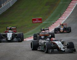 Cara y cruz para Force India en el Gran Premio de Estados Unidos