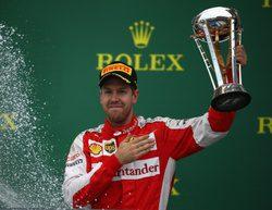 """Sebastian Vettel: """"Quizá debería haber arriesgado un poco más con Rosberg"""""""