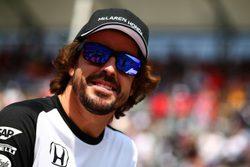 """Fernando Alonso: """"La velocidad en las curvas es buena, pero aún nos falta potencia"""""""