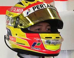 """Rio Haryanto termina el test de Pirelli 15º: """"Estoy contento con el trabajo que hice"""""""