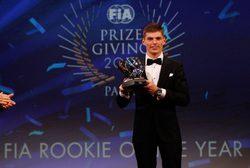 Max Verstappen logra triplete de premios en la Gala de la FIA