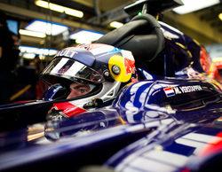 """Max Verstappen: """"Por ahora estoy tranquilo y contento de estar en Toro Rosso"""""""