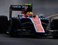 Rio Haryanto sancionado con tres posiciones en parrilla por salida peligrosa del garaje