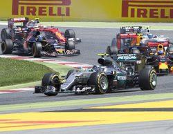 Alineación de pilotos participantes en los test de temporada en Barcelona 2016