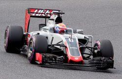 """Romain Grosjean: """"Hemos completado todo el programa gracias al equipo"""""""