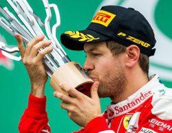 """Sebastian Vettel acaba segundo: """"Tuve una salida perfecta"""""""