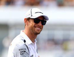 """Jenson Button: """"El ojo está mejor, por lo demás, el día ha ido muy bien"""""""