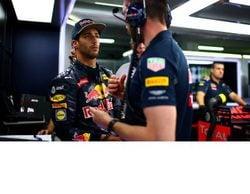 """Daniel Ricciardo: """"Estamos en una buena posición para mañana""""."""