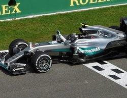 Nico Rosberg sale indemne y triunfa en un caótico GP de Bélgica 2016