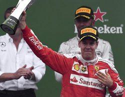 """Sebastian Vettel: """"Este es el resultado perfecto después de un fin de semana muy positivo"""""""