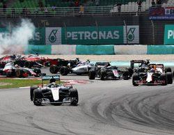 Ricciardo triunfa, Hamilton explota y Alonso remonta en el GP de Malasia 2016
