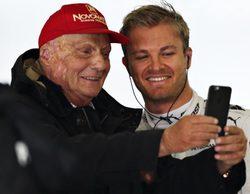 """Niki Lauda: """"Rosberg no sería campeón por casualidad"""""""