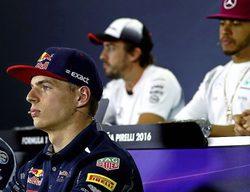 """Max Verstappen: """"Los dos mejores pilotos hoy en día son, sin duda, Hamilton y Alonso"""""""