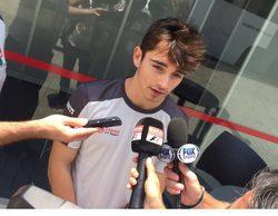 """Charles Leclerc vuelve a conducir a un F1: """"Ha sido fantástico volver a subirse al coche"""""""
