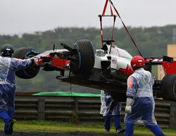 "Romain Grosjean: ""Ni siquiera iba a tope, fue mala suerte"""