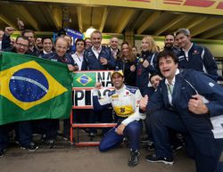 Felipe Nasr confía en seguir en Sauber para 2017 tras el resultado en el GP de Brasil