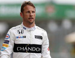 """Jenson Button, enfadado con su MP4-31: """"Creo que no se me ha olvidado pilotar en lluvia"""""""