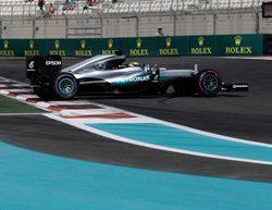 Lewis Hamilton lidera los L2 del GP de Abu Dabi 2016 con Toro Rosso con serios problemas