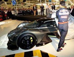 Red Bull y Aston Martin continuarán con el desarrollo de su hipercoche en 2017