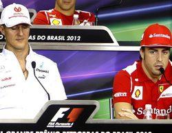 """Fernando Alonso: """"De todos mis rivales, Michael Schumacher ha sido el más talentoso"""""""