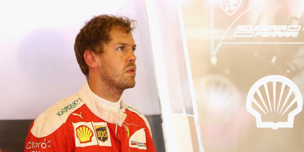 Sebastian Vettel sufre un accidente mientras probaba los Pirelli de lluvia en el Circuito de Fiorano