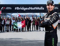 Sergio Pérez apoya una campaña del GP de México contra las políticas de Trump