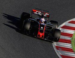 """Romain Grosjean: """"No ha sido un día fácil, no completamos el programa"""""""