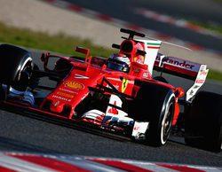 Kimi Räikkönen se lleva unas pruebas en mojado con poca participación