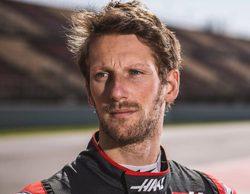 """Romain Grosjean: """"El equipo está haciendo un gran trabajo, el monoplaza está yendo a mejor"""""""