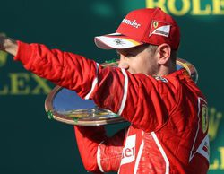 """Sebastian Vettel: """"Un gran día para nosotros; la sensación es fantástica"""""""